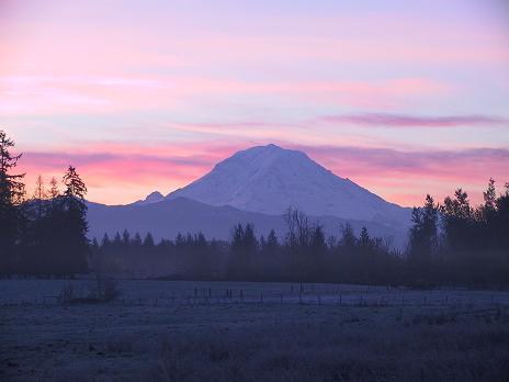 Mt RainierSunrise