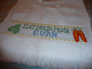 Bib for baby Evan